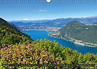 Gandria - Malerisches Fischerdorf am Luganer See (Wandkalender 2019 DIN A3 quer) - Produktdetailbild 6