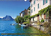 Gandria - Malerisches Fischerdorf am Luganer See (Wandkalender 2019 DIN A3 quer) - Produktdetailbild 9