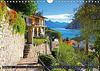 Gandria - Malerisches Fischerdorf am Luganer See (Wandkalender 2019 DIN A4 quer) - Produktdetailbild 10
