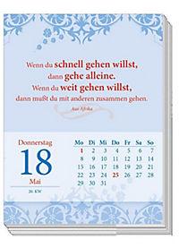 Gedanken & Sprüche. Abreißkalender 2018 - Produktdetailbild 1