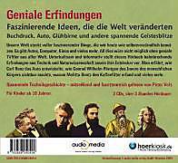 Geniale Erfindungen, 3 Audio-CDs - Produktdetailbild 1