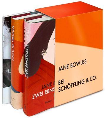Gesammelte Werke, 2 Bde. m. Begleitbd., Jane Bowles