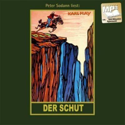 Gesammelte Werke, MP3-CDs: Bd.6 Der Schut, 1 MP3-CD, Karl May