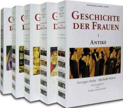Geschichte der Frauen, 5 Bände, Georges Duby