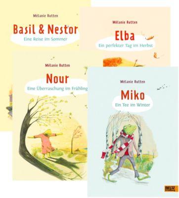 Geschichten von Freunden, 4 Bände, Mélanie Rutten