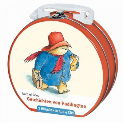 Geschichten von Paddington, 4 CDs, Michael Bond