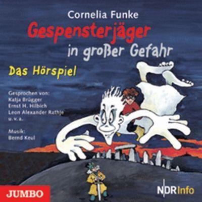 Gespensterjäger in großer Gefahr, 1 Audio-CD, Cornelia Funke