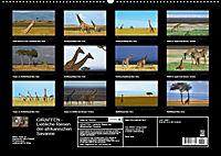 GIRAFFEN - Liebliche Riesen der afrikanischen Savanne (Wandkalender 2018 DIN A2 quer) - Produktdetailbild 13
