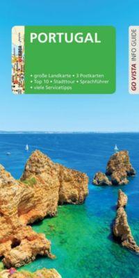 Go Vista Info Guide Reiseführer Portugal, m. 1 Karte, Werner Tobias