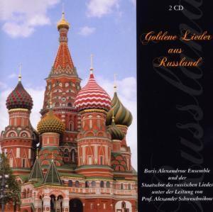 Goldene Lieder aus Russland, 2 CDs, Boris Ensemble Alexandrow