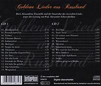 Goldene Lieder aus Russland, 2 CDs - Produktdetailbild 1