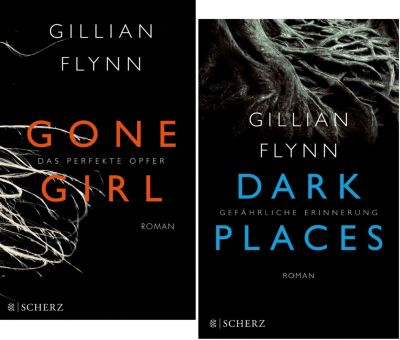Gone Girl/ Dark Places, 2 Bände, Gillian Flynn