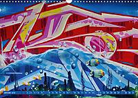 Graffitkunst Dresden (Wandkalender 2018 DIN A3 quer) - Produktdetailbild 1