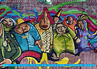 Graffitkunst Dresden (Wandkalender 2018 DIN A3 quer) - Produktdetailbild 5