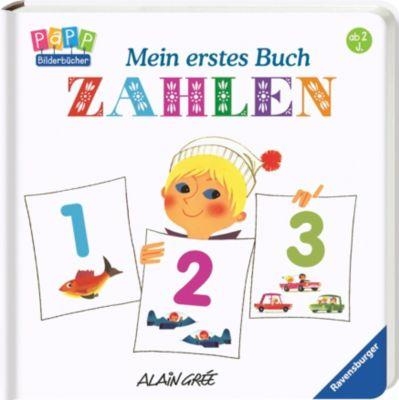 Grée, Mein erstes Buch: Tiere - Fahrzeuge - Farben - Zahlen, 4 Bände, Alain Grée