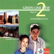 Green Line New, Ausgabe für Bayern: Bd.2 2 Schülerbuch-Audio-CDs, 6. Schuljahr