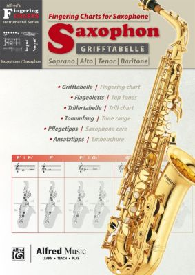 Grifftabelle Saxophon / Fingering Charts Saxophone