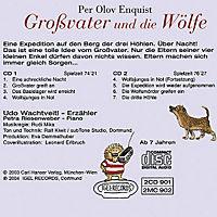 Großvater und die Wölfe, 2 Audio-CDs - Produktdetailbild 1