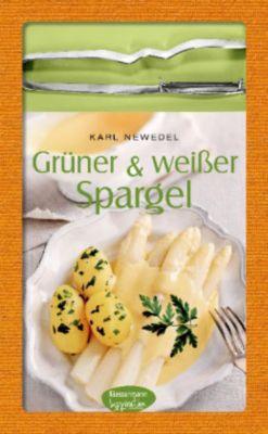 Grüner & weißer Spargel, mit Spargelschäler, Karl Newedel