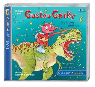 Gustav Gorky Band 3: Die Dinos sind los (Audio-CD), Erhard Dietl
