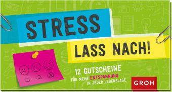 Gutscheinbuch Stress lass nach