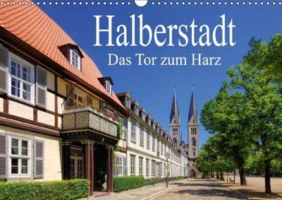 Halberstadt - Das Tor zum Harz (Wandkalender 2018 DIN A3 quer), LianeM