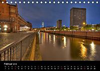 "Hamburg ""Blaue Stunde"" (Tischkalender 2018 DIN A5 quer) - Produktdetailbild 2"
