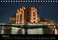 "Hamburg ""Blaue Stunde"" (Tischkalender 2018 DIN A5 quer) - Produktdetailbild 1"