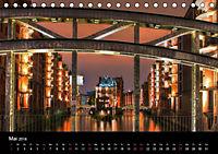 "Hamburg ""Blaue Stunde"" (Tischkalender 2018 DIN A5 quer) - Produktdetailbild 5"