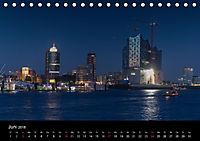 "Hamburg ""Blaue Stunde"" (Tischkalender 2018 DIN A5 quer) - Produktdetailbild 6"
