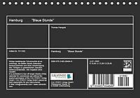"Hamburg ""Blaue Stunde"" (Tischkalender 2018 DIN A5 quer) - Produktdetailbild 13"