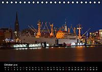"Hamburg ""Blaue Stunde"" (Tischkalender 2018 DIN A5 quer) - Produktdetailbild 10"