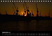 "Hamburg ""Blaue Stunde"" (Tischkalender 2018 DIN A5 quer) - Produktdetailbild 9"