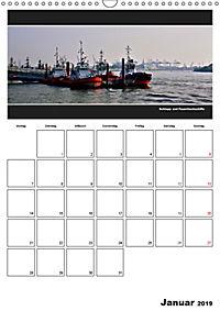Hamburg Panoramen 2019 - Jahresplaner (Wandkalender 2019 DIN A3 hoch) - Produktdetailbild 1