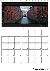 Hamburg Panoramen 2019 - Jahresplaner (Wandkalender 2019 DIN A3 hoch) - Produktdetailbild 11