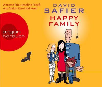 Happy Family, 5 Audio-CDs, David Safier