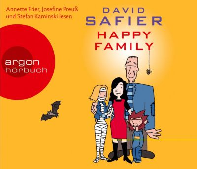 Happy Family, 5 Audio-CDs, David Safier