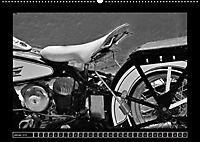 Harley Davidson WLA 750 in Schwarzweiss (Wandkalender 2018 DIN A2 quer) Dieser erfolgreiche Kalender wurde dieses Jahr m - Produktdetailbild 1