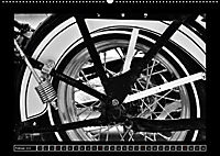 Harley Davidson WLA 750 in Schwarzweiss (Wandkalender 2018 DIN A2 quer) Dieser erfolgreiche Kalender wurde dieses Jahr m - Produktdetailbild 2