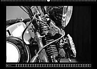 Harley Davidson WLA 750 in Schwarzweiss (Wandkalender 2018 DIN A2 quer) Dieser erfolgreiche Kalender wurde dieses Jahr m - Produktdetailbild 5