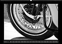 Harley Davidson WLA 750 in Schwarzweiss (Wandkalender 2018 DIN A2 quer) Dieser erfolgreiche Kalender wurde dieses Jahr m - Produktdetailbild 10