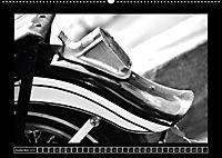 Harley Davidson WLA 750 in Schwarzweiss (Wandkalender 2018 DIN A2 quer) Dieser erfolgreiche Kalender wurde dieses Jahr m - Produktdetailbild 9