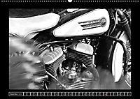 Harley Davidson WLA 750 in Schwarzweiss (Wandkalender 2018 DIN A2 quer) Dieser erfolgreiche Kalender wurde dieses Jahr m - Produktdetailbild 12