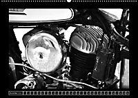 Harley Davidson WLA 750 in Schwarzweiss (Wandkalender 2018 DIN A2 quer) Dieser erfolgreiche Kalender wurde dieses Jahr m - Produktdetailbild 11