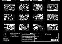 Harley Davidson WLA 750 in Schwarzweiss (Wandkalender 2018 DIN A2 quer) Dieser erfolgreiche Kalender wurde dieses Jahr m - Produktdetailbild 13