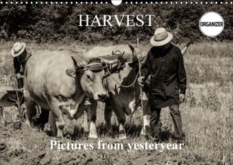 Harvest, pictures from yesteryear (Wall Calendar 2018 DIN A3 Landscape), Alain Gaymard