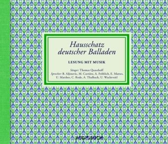 Hausschatz deutscher Balladen, 4 Audio-CDs, Diverse Interpreten