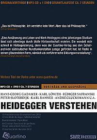 Heidegger verstehen, MP3-CD + DVD - Produktdetailbild 1