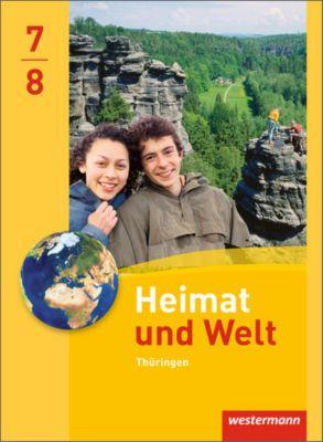 Heimat und Welt, Ausgabe 2011 Thüringen: 7./8. Schuljahr, Schülerband