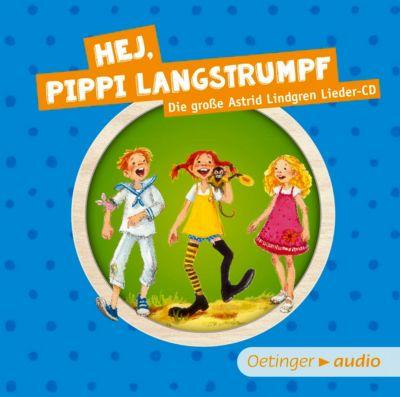 Hej, Pippi Langstrumpf, CD, Astrid Lindgren